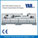 Taglierina tagliante di serie di Mhc & di piegatura automatica con la spogliatura con il sistema di riscaldamento