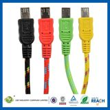 USB Cable Sync Charging Micro 2m 6ft Flat Data