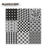 装飾のタイルの白黒シリーズによって艶をかけられる磨かれたタイル(6600202)