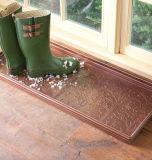 Plateau à chaussures en caoutchouc en métal galvanisé décoratif