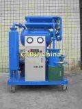 Fase única máquina de filtragem do óleo do transformador de Vácuo