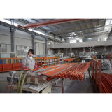 Injeção PVC-U Dwv cotovelo M/F da rua de 90 graus (ASTM-D-2665)