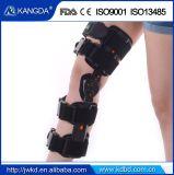 Le ce de FDA a délivré un certificat le support de genou articulé réglable de support médical de genou pour l'allégement de douleur