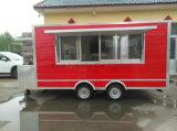 Sushi die de Mobiele Aanhangwagen van het Voedsel verkopen