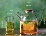 Vaso di vetro della teiera di vetro Handmade dell'articolo da cucina per la famiglia