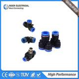 Aprisa conectar la guarnición de manguito del agua para el sistema neumático