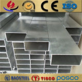 6061 6063 T6 알루미늄 밀어남 상자는 정연한 관 가격을 구분한다