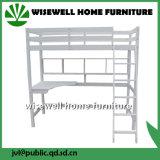 Dormeur élevé de pin en bois de bâti solide de cabine avec le bureau