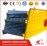 Piedra de la marca de fábrica de Hengchang/pantalla circular de la vibración del polvo del mineral