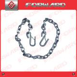 Noi catena di sicurezza standard del rimorchio con gli ami di S