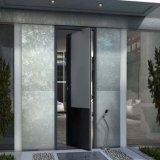 Portello di alluminio del perno di vetro Tempered di alta qualità