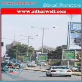 Lâmpada de Publicidade de rua em frente e verso Pole Caixa de Luz