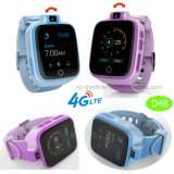 reloj elegante 4G con la función del GPS y la cámara giratoria