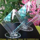 Rectángulo de papel de acrílico del tejido de la dimensión de una variable del diamante