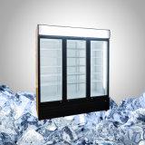 Grande dispositivo di raffreddamento con 2 3 4 portelli di vetro