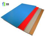 El aluminio aislado artesona el grano de madera del panel compuesto de aluminio