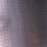 Feuille en aluminium à damiers 6063, 5052, 7075, 5083