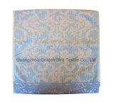 100% algodão Veludo Jacquard pilha com uma toalha de rosto acetinado