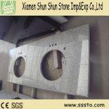 Lavatórios em granito cinza para banheiro