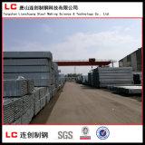 Tubo rettangolare/quadrato d'acciaio Pre-Galvanizzato con la galvanostegia 120G/M2