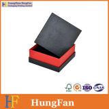 Rectángulo de regalo cosmético del papel de la cartulina del embalaje de la joyería cuadrada de la dimensión de una variable