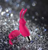 Reizende Form-starke Schwingung-erwachsener Zerhacker spielt Kaninchen-Zerhacker für Frau