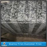 階段または床タイルのためのSeawaveの安い中国の白い花こう岩