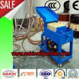 Macchina portatile di filtrazione dell'olio della carta da filtro, macchina elaborante dell'olio
