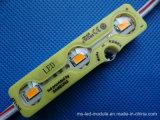 Module de l'injection 3LEDs DEL de la lumière jaune 5730
