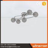 Свет шкентеля потолка тени светильника Wire-Net G9 Alu