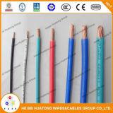 Câble en nylon de la jupe Thhn/Thwn de Weith du conducteur UL83 d'isolation de cuivre de PVC