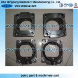 Peça de maquinaria de aço personalizada do OEM para o motor