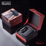 Cigarrillo electrónico nano Vaporiser de Vape Mods de la Tapa-Circulación de aire del Secundario-Ohmio de C 900mAh 55W