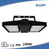 Garantía al aire libre de la luz 5year del túnel del poder más elevado 100W 200W LED