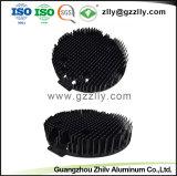 Настраиваемые High-Quality 6063 сплава штампованный алюминий для теплоотвода с вентилятором светодиодный индикатор на улице