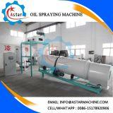 Máquina que pinta (con vaporizador) del petróleo en planta del pienso