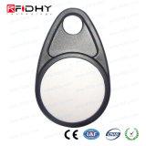 A etiqueta da chave de proximidade 13.56MHz via RFID ABS para controle de acesso