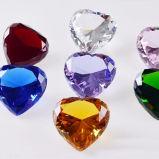 Красный Кварцевые Diamond День Рождения свадебный подарок партии сувенирный магазин подарков