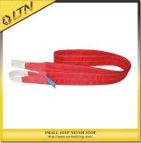 Polyester ceinture pour l'anneau de levagesangle plat élingue (NHWS-A)
