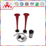Corno rosso professionale dell'altoparlante per i pezzi di ricambio del motociclo