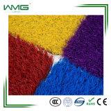 35mm 3color Ushape 뗏장 제품 인공적인 잔디