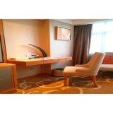 Mobiliário de quarto de hotel de estilo simples com mobiliário de madeira sólida