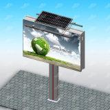 LED de exterior de aço Solar para Outdoor de propaganda em outdoor