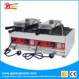 Double Taiwan Taiyaki Machine avec EC pour la vente