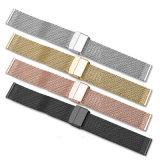 Bisutería Watch Correa de accesorios de acero inoxidable Watchband