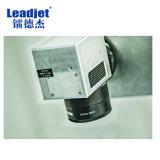 Número marcado de la serie de la fecha de la insignia del laser del laser del CO2 de Leadjet de la máquina de alta velocidad de la marca para el alambre