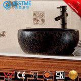 Casa de Banho clássico em madeira de carvalho armário com espelho (F8076)