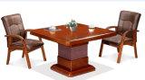 贅沢で豪華な一見ビジネス交渉の机の会議の席