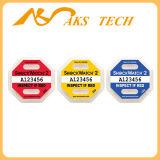 10g Shockwatch 2 sensores de choque e de indicadores para o transporte de mercadorias sensíveis