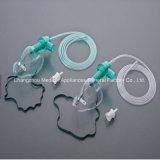 Masque à oxygène médical de PVC d'approvisionnement de constructeur